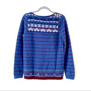 Henri Lloyd London Nautical Wool Sweater  Boat M